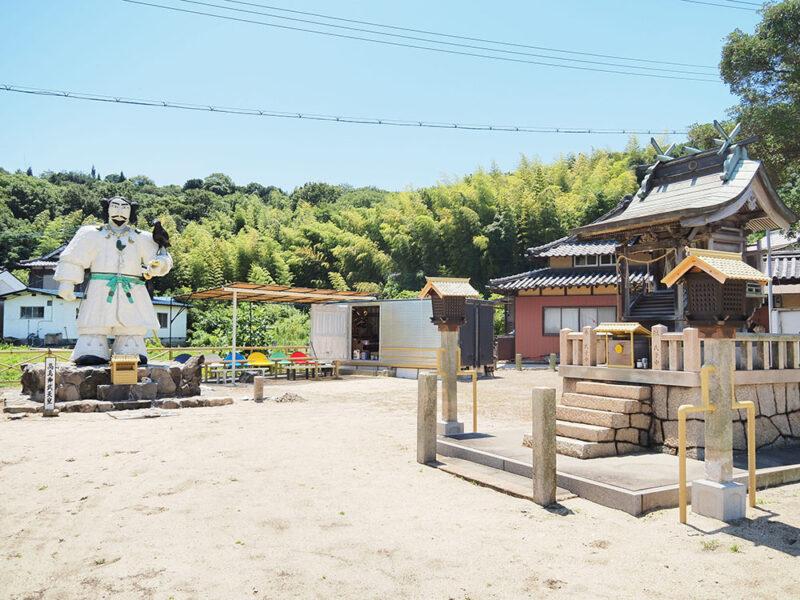 高島 ~ 本土から最短約6分 自然と個性あふれる神武天皇伝説の島