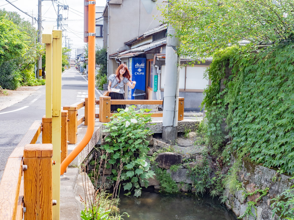 水野勝成と失われた設計図:御手洗川の上水道施設跡