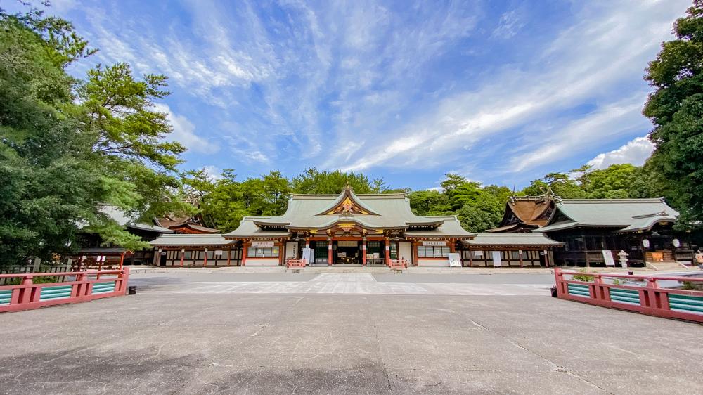 水野勝成と失われた設計図:福山八幡宮 社殿